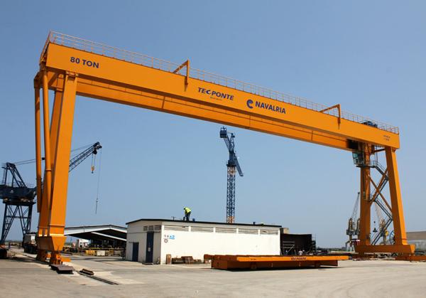 Navalria the shipyard for Porticos sa